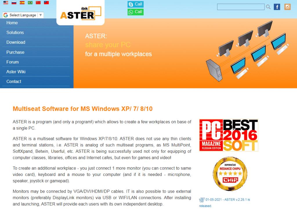 ASTER Ibik Multiseat Software - Bestmaxcoupons